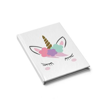 Unicorn Journal  Blank, Personalized Journal, Custom Journal, Writing Journal, Diary, Notebook, Gift for Book Lovers, blank books
