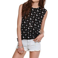 Young & Reckless LA Print Muscle Tee at PacSun.com
