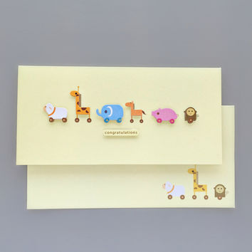 Darling Baby Congratulations Card