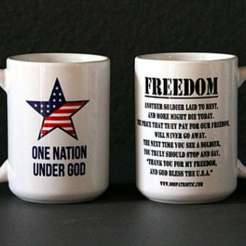 Freedom Poem Coffee Mug