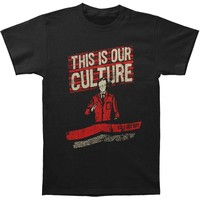 Fall Out Boy Men's  Culture T-shirt Black