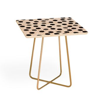 Elisabeth Fredriksson Black Dots and Confetti Side Table