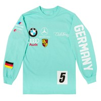 Club Foreign Long Sleeve T Shirt German Series - Mint