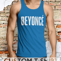 Logo Beyonce Men Tanktop - Lzi Tanktop For Men  / Custom - Tanktop / Men Tanktop