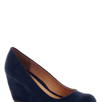 Find Your Feat Wedge in Indigo