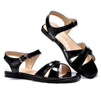 LV Louis Vuitton Women Casual Buckle Sandals Shoes Day-First™