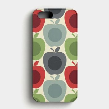 Orla Kiely Apples And Pears iPhone SE Case