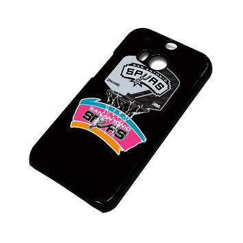 SAN ANTONIO SPURS 2 HTC One M8 Case Cover