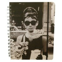 "3-subject 6x8"" Vintage Picture Notebook"