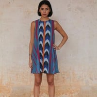 Stela 9 | The Rosario Dress | Indigo