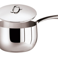 Kikka Saucepan, 1 handle and  Lid, 6 1/4 x 4 1/8 inch, 77 ounce