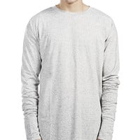Icey Long Sleeve Scooped Back T-shirt