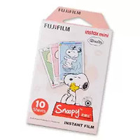 Fujifilm Instax Instant Mini Film for Fuji Mini 7S Instant Mini 8 Instax Mini 25 Instant Mini 50S Cameras - Snoopy, Lucy, Schroeder, Pigpen, Sally, Linus, Marcie, Patty, Charlie Brown, 10 Sheets/Pack