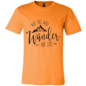 Not All Who Wander Are Lost - Men's Tee