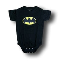 Batman Classic Logo Infant Onesuit