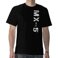 MX-5 Vert T-Shirt from Zazzle.com
