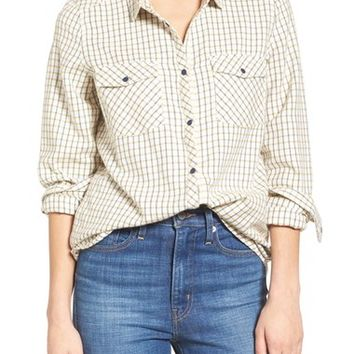 Roxy Squary Cool Plaid Flannel Shirt | Nordstrom