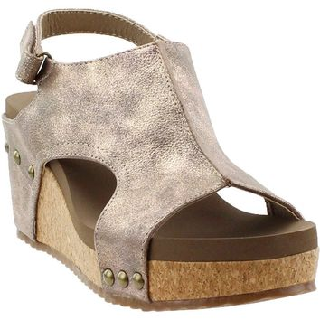 "Corky's Wedge ""Ingrid"" in Bronze"