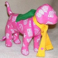 Victoria's Secret Pink Dog Phi Beta Pop Pink 2007