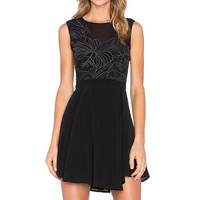 Lovers + Friends Wildfire Dress in Black