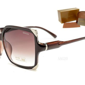 Gucci sunglass AA Classic Aviator Sunglasses, Polarized, 100% UV protection [2974244872]