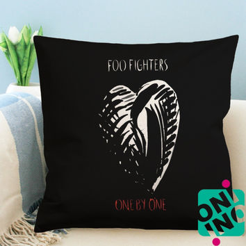Foo Fighters One by One Zippered Pillow Case, Cushion Case, Pillow case
