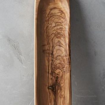 Olive Wood Spoon Rest by Anthropologie in Brown Motif Size: Spoon Rest Kitchen