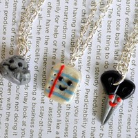 Rock, Paper, Scisssors Best Friend Necklaces - Whimsical & Unique Gift Ideas for the Coolest Gift Givers