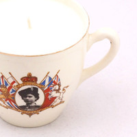 Vintage Jubilee Teacup Candle by CherryBlossomCandles on Etsy