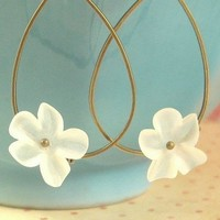 Flower Earrings : In The Garden - Choose Your Color