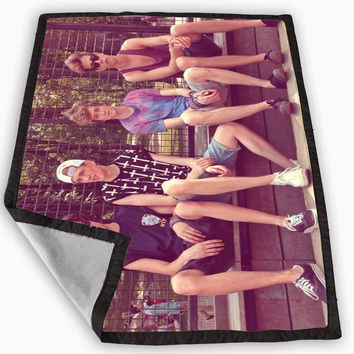 The Vamps Crew English Boys Band X factor Blanket for Kids Blanket, Fleece Blanket Cute and Awesome Blanket for your bedding, Blanket fleece *
