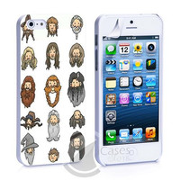 The Hobbit Character iPhone 4, 4S, 5, 5C, 5S Samsung Galaxy S2, S3, S4 Case
