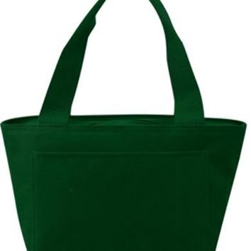 Insulated Cooler Tote Lunch Bag (Forest) - CASE OF 24