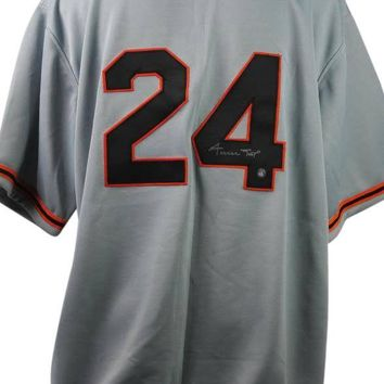 Willie Mays Signed Autographed San Francisco Giants Baseball Jersey (Say Hey Authenticated)