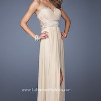 Strapless Sweetheart La Femme Prom Dress