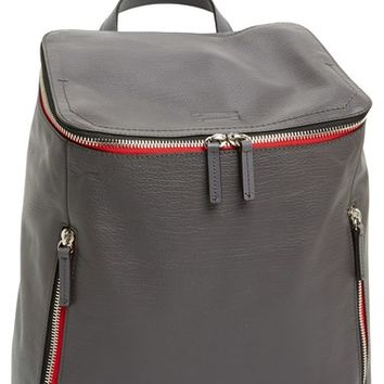 Men's Ben Minkoff 'Indy' Leather Dad Bag