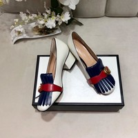Top quality 2020 office Trendsetter Gucci Fashion Women Heels Sandal Shoes white