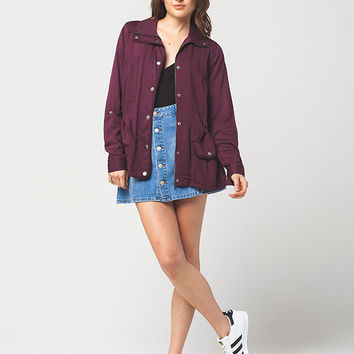 FULL TILT Welt Pocket Womens Anorak | Jackets