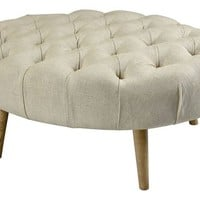 Mother Rose Ottoman - Midcentury - Footstools And Ottomans - by Lumiere Lamps
