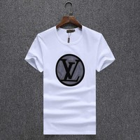 One-nice™ Louis Vuitton Women Man Fashion Print Sport Shirt Top Tee