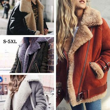 HEE GRAND Winter Jackets Women Loose Flocking Warm Thin Coat Women Casual Suede Woman Parkas Velvet Cotton Outerwears WWJ930