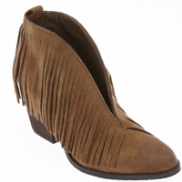 Coconuts by Matisse Saddle Lambert Fringe Booties