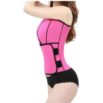 Hot Sale High Quality  Sauna Waist Trainer Vest Workout Shapewear Slimming Adjustable Sweat Belt Body Shaper
