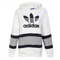 Adidas Fashion Women Men Casual Print Hoodie Top Sweater Pullover Top I
