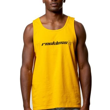 Saint Tank Top- Gold