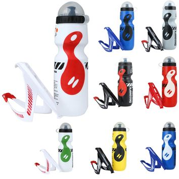 8 Color 750ML Portable Outdoor Bike Bicycle Cycling Sports Drink Jug Water Bottle Cup Tour De France Bicycle Bottle with Holder
