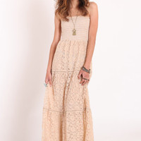 Falling Into Grace Lace Maxi Dress - $52.00 : ThreadSence.com, Your Spot For Indie Clothing & Indie Urban Culture