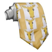 Yellow Giraffe ties