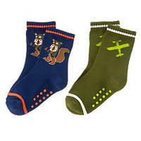 Flying Squirrel Socks Two-Pack