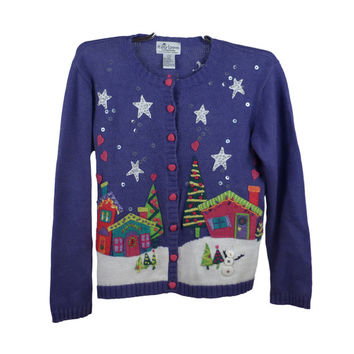 Ugly Christmas Sweater Vintage Kid's Children's PartyTacky Holiday